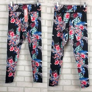 Minkpink Move Floral Athletic Leggings Workout S
